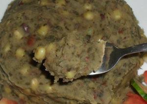 Kenyan Food - Mukimo (Irio)