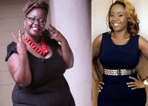 Kalekye Mumo stunning look after losing 40kgs