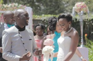 Dennis Okari wedding