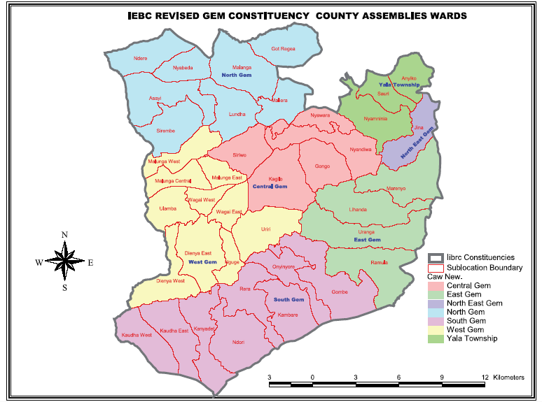 Gem Constituency Map