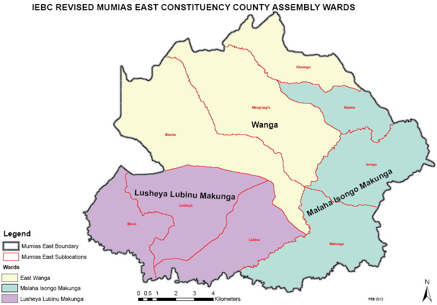 Mumias East Constituency