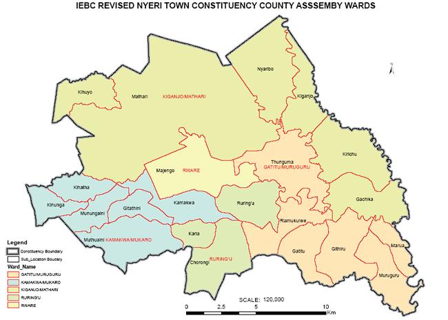 Nyeri Town Kenya