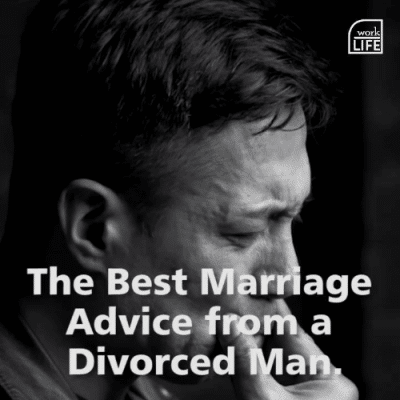Marriage Advice Fro a Divorced Man Image